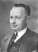 Portrait of Dr Walter Shewhart, father of process control